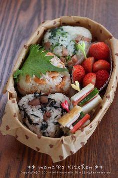 Rice Ball Bento おむすび弁当