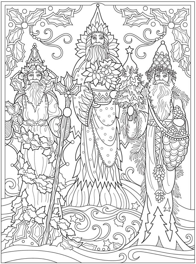 Welcome To Dover Publications Dover Coloring Pages, Christmas Coloring  Pages, Free Coloring Pages