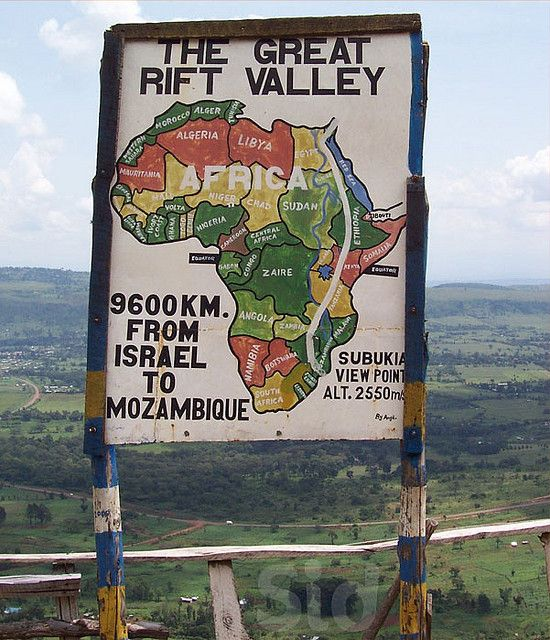 Kenya. Great Rift Valley. 9.699 Km. From Israel to Mozambique |Flickr by maksid