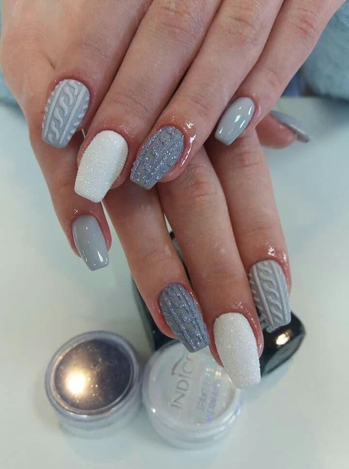 Nails Para Jud By Diana Ortiz Nail Designs Glitter Xmas Nails