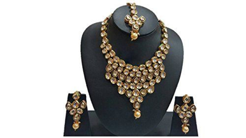 Indian Bollywood Inspired Gold Plated White Stone Wedding... https://www.amazon.com/dp/B01NCUZT10/ref=cm_sw_r_pi_dp_x_CPOSybVGG9QJ8