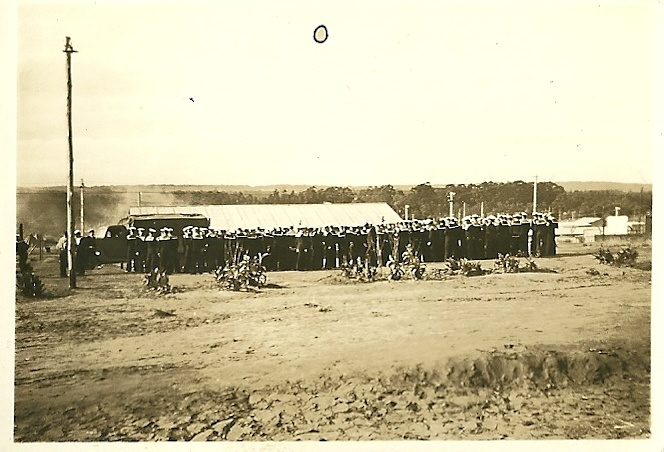 'Durban - Clarewood Camp, June 1943 - General Smuts Inspection'