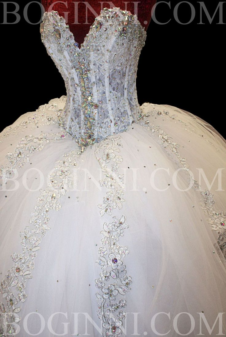 huge wedding dresses | ... MADE WHITE AB CRYSTAL 250CM WIDE BIG WEDDING DRESS WITH LONG TRAIN