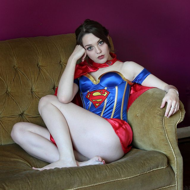 Supergirl Cosplay Flickr: 160 Best Images About Girls In Supergirl Costumes On