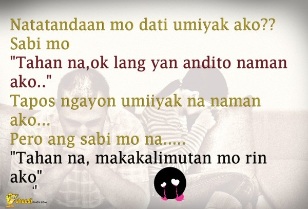 36 best sad tagalog quotes images on pinterest