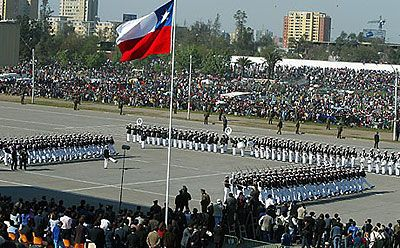 Popular Holiday-Independence Day - September 18th. Their road to independence from Spain started on that date in 1810. Although they would have to fight for eight more years to earn their total freedom, Chile celebrates the 18th of 1810 with great fanfare. Chile officially proclaimed independence February 12, 1818.This includes parades, dances, drinking, eating traditional Chilean food, and music.I summarize this as a very important date in their lives, their date of freedom.
