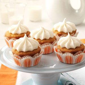 Amaretto Dream Cupcakes Recipe from Taste of Home -- shared by Anette Stevens of Olds Alberta