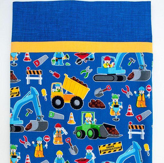 Construction Work Child S Full Size Pillowcase Children