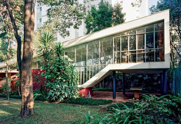 Segunda Residência do Arquiteto (1949), o lar que Vilanova Artigas projetou para si e a família em São Paulo.