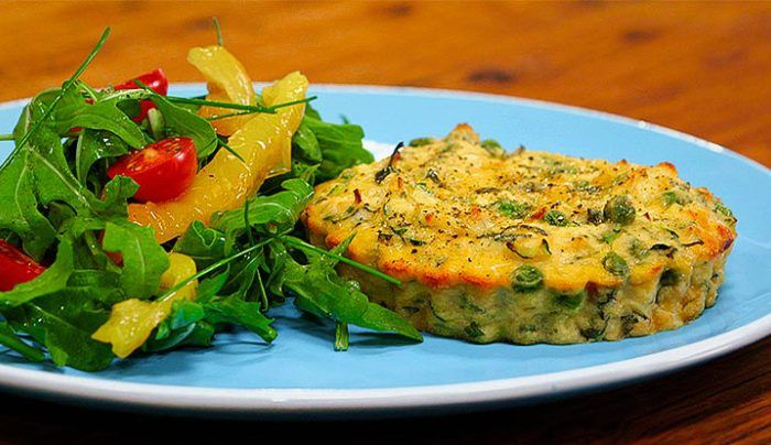 Gluten-free Almond, Leek and Ricotta Tart - Good Chef Bad Chef