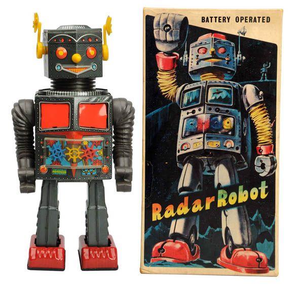 Radar Robot toy
