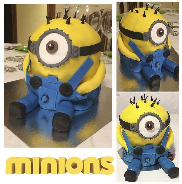 Tarta Minions / Sorpresa de cumpleaños