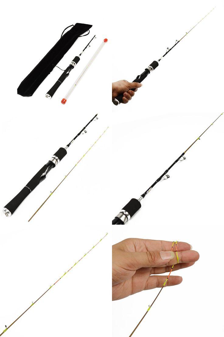 [Visit to Buy] Mini 80CM Carbon Fiber Lure Fishing Rod Unbreakable Titanium Tip Fishing Pole Super Soft Anti-corrosion Raft Boat Fishing Rod #Advertisement