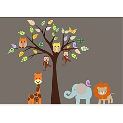 safari baby wall art!