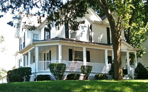 Farmhouse With Wrap Around Porch old | Wraparound Porches and Historic Neighborhoods | At Home in Brookside ...