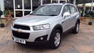 2012 (12) Chevrolet Captiva 2.2 VCDi LT [7 Seats] For Sale In Scunthorpe, North Lincolnshire