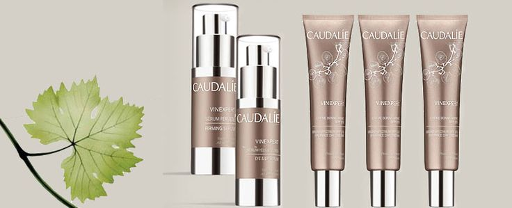 The new Caudalie Vinexpert range with Resveratrol-Oleyl, the star active ingredient, and 'stimulates the production of collagen and elastin, stops at the source the glycation responsible for deep wrinkles, and redensifies the skin.'