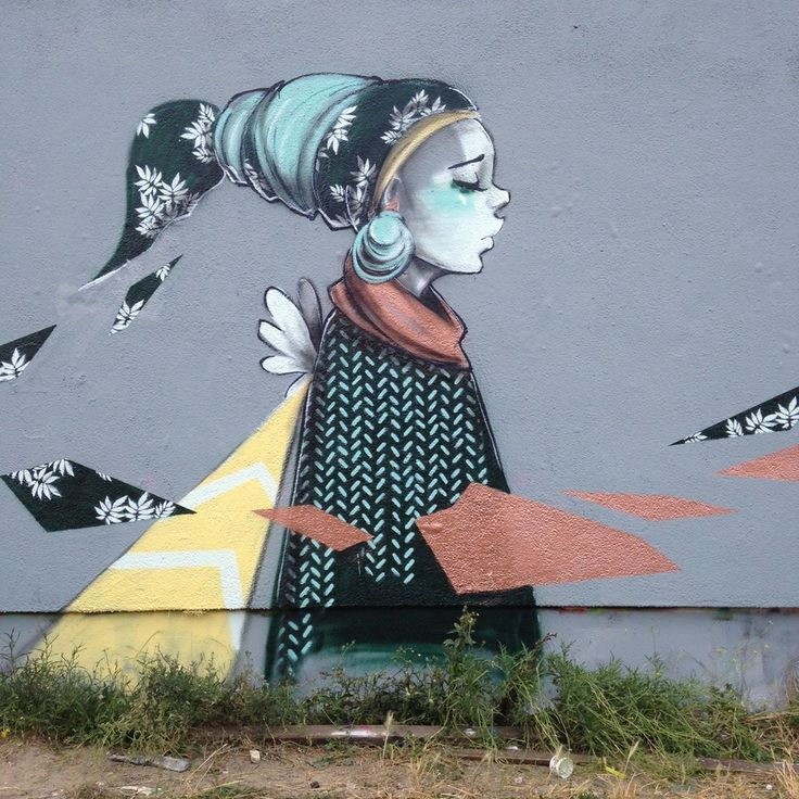 An elegant intervention - lucylucy one in Melbourne (http://globalstreetart.com/lucy-lucy).