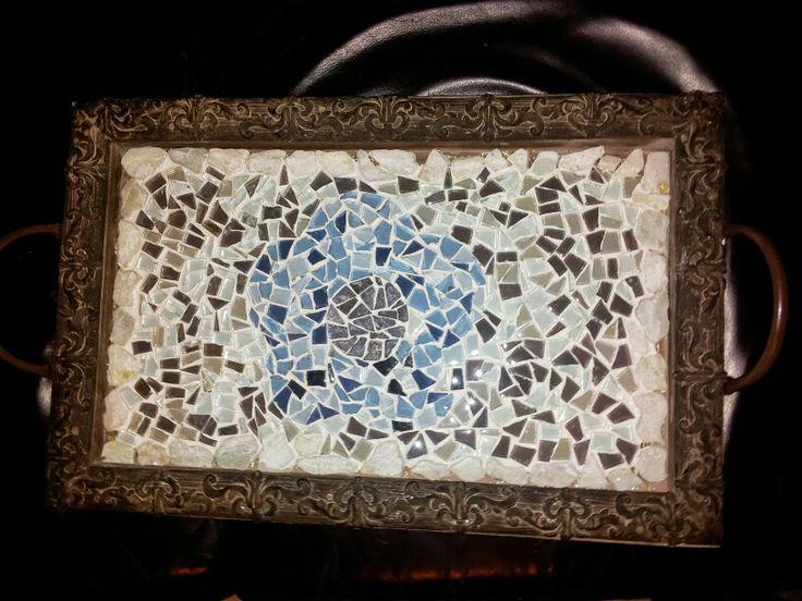 Mozaiek dienblad