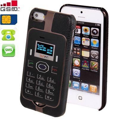 Custodia Cover con Telefono GSM Integrato per IPhone 5 con Bluetooth Giochi SMS Freq.900/1800 Mhz - Iphone 5 - Cover & Accessori per Apple - Cover & Accessori | I Shake | Il Risparmio in un Click.