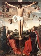 Crucifixion  by Josse Lieferinxe