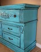 chalk painted furniture ideas - Hallway cabinet