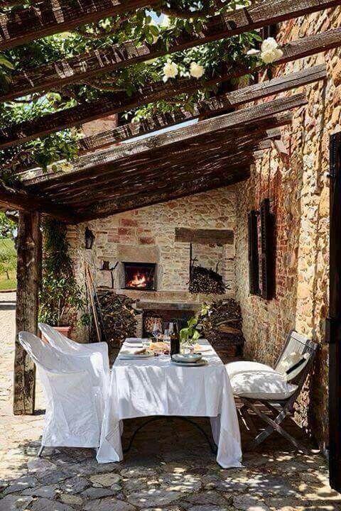 Oltre 25 fantastiche idee su giardini rustici su pinterest - Idee per giardini di casa ...