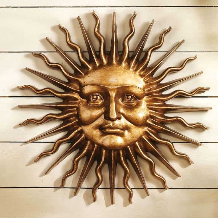 Outdoor Sun Wall Art 31 best outdoor sun decor images on pinterest | sun, sun art and