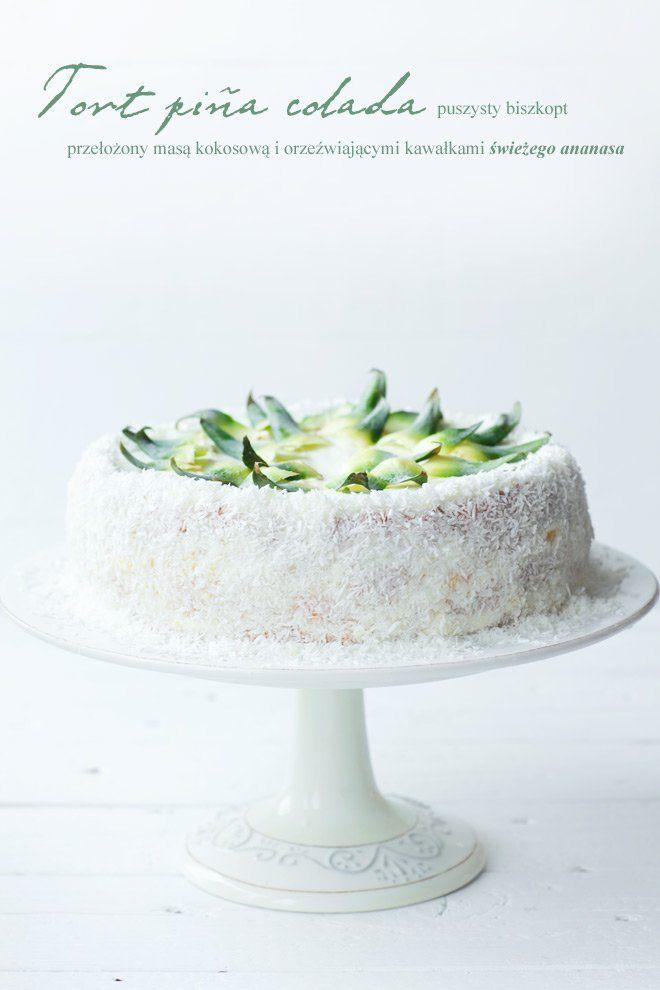 Tort Pina Colada