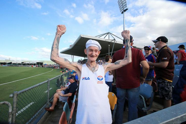 A VERY loyal @westernbulldogs fans will this weekend bring up an extraordinary milestone.  MORE: https://bit.ly/2v25eUG
