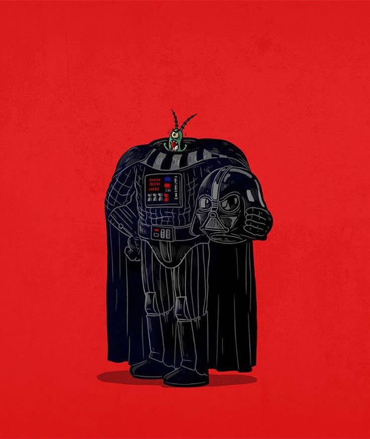 Darth Vader Unmasked #iconsunmasked