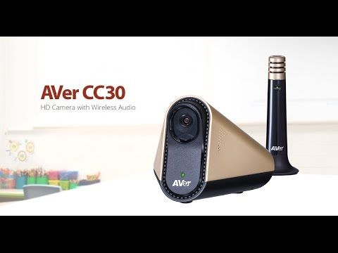 AVer CC30 HD Collaboration Camera with Wireless Audio