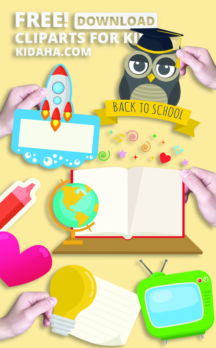 Creative Kid Graphic And Cartoon Clipart For Children Or Teaching In Classroom Even Professional