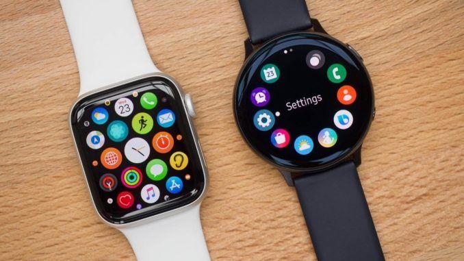 Samsung Galaxy Watch Active 2 Vs Apple Watch 5 Which One To Choose Smart Watch Samsung Smart Watch Smartwatch Women