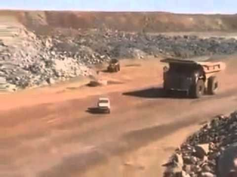 Insane Caterpillar runs on a Landcruiser and leaves nothing