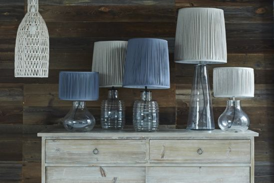 Table lamps range shot