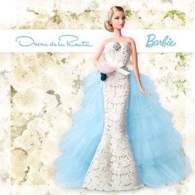 Hot: Barbie Gets a Bridal Makeover with This Oscar de la Renta Wedding Dress
