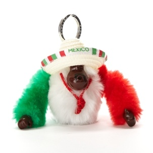 Mexico Monkey - Kipling  VAMOS MEXICO