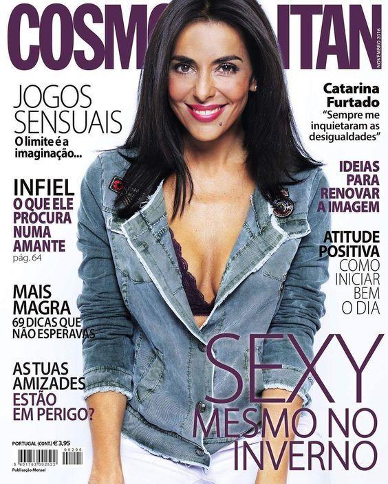 Catarina Furtado na revista Cosmopolitan Portugal Novembro 2016
