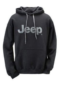 Jeep Gear: Product'Premium Cotton Ringspun Fleece Hooded Sweatshirt'