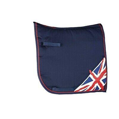 Commercial(eBay) Cottage Craft Union Jack Saddle Pad (TL579)