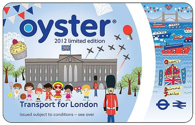 Limited Edition Oyster Card for the London 2012 Olympics