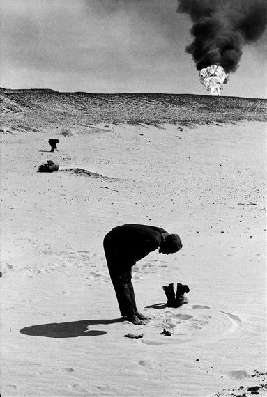 Marc Riboud, Man Praying, Saudi Arabia on ArtStack #marc-riboud #art