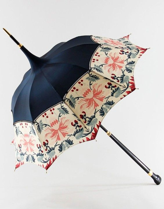 Michel Heurtault who works from his atelier in France designs parasols and  umbrellas that are true