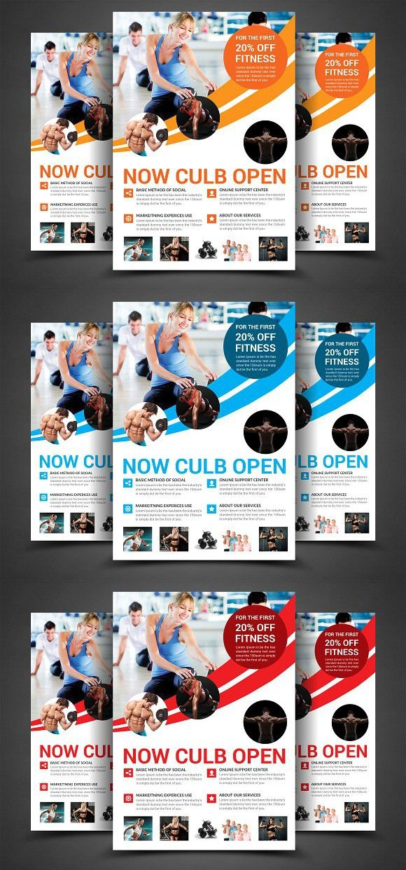 Fitness Flyer. Flyer Templates