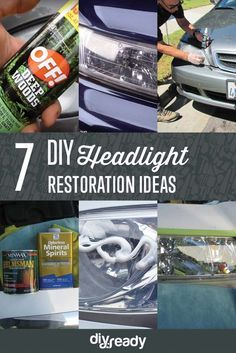 Check out 7 Headlight Restoration DIY Ideas at: