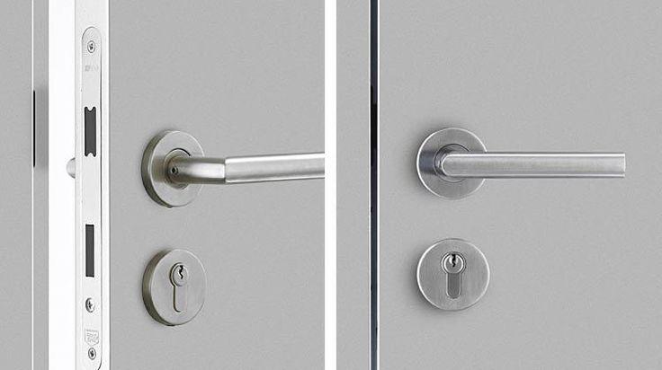 Modern Door Lock Hardware bartels doors :: bartels - modern custom interior doors and door