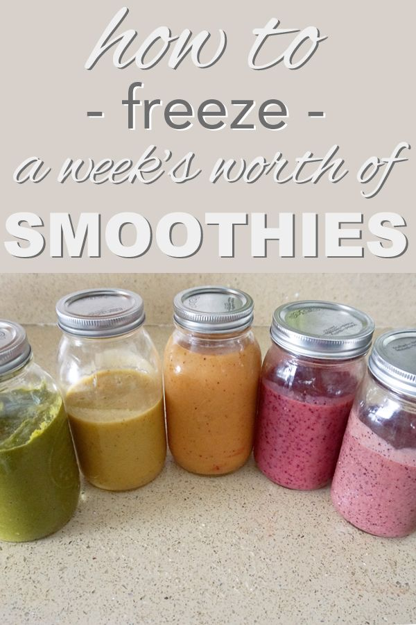 Morning Hack: did you know you can freeze smoothies? Simplify your mornings and only wash the blender once. Saving water is eco friendly - right? Learn more on www.goingzerowaste.com
