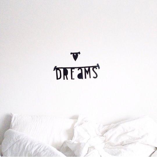 #Wordbanner #tip: #Dreams - Buy it at www.vanmariel.nl - € 11,95  - Foto #sevencouches