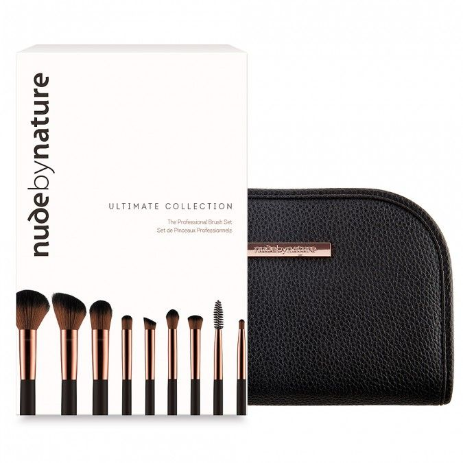 A versatile 9-piece brush set that comes in a beautiful pouch.